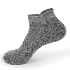 Men Breathable Stretchy Short Ankle Sock Casual Sport Non-slip Sweat Durable Hosiery
