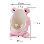 Cute Frog Children Kids Potty Removable Toilet Urinal Early Learning Boys Pee Trainer Bathroom