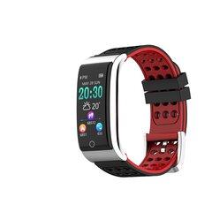 ECG EKG Monitor per la pressione sanguigna Idoneità Tracker 3D UI a colori IP67 Smart Watch standby lungo