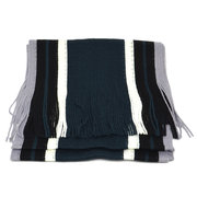 Men Winter Designer Scarf Striped Knitted Scarf Casual Warm Autumn Wrap Scarves