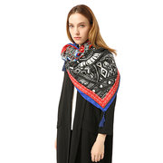 Bohemia Ethnic Style Ladies Scarf Printed Tassel Women Wraps Winter Ladies Casual Scarves Shawls