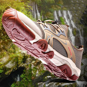 Men Mesh Splicing Outdoor Slip Resistant Breathable Water Hiking Shoes