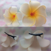 Hair Clip Frangipani Hairpin Beach Wedding Flower Hair Accessory