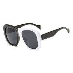 Women Man Anti-UV Sunglasses Two-color Box Sunglasses Square Box Sunglasses
