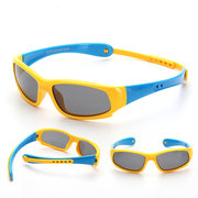 Flexible Silicone Kids Sunglasses Polarized Sun Glasses UV400 For 2Y-10Y