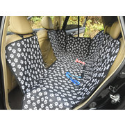Pet Car Rear Back Seat Protector Hammock Dog Seat Cover With Safety Net