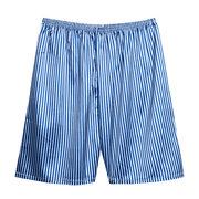 Мужская повседневная свободная домашняя гладкая мягкая повседневная шорты для пижамы