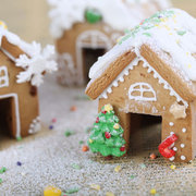 3Pcs 3D Stainless Steel Gingerbread House Christmas Cake Cookie Cutters Set Biscuit Mold Fondant