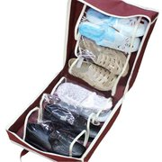 6 Pairs of Shoes Waterproof Portable Storage Bag Women Tote Toiletries Laundry Shoe