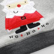 Weihnachtsmuster Jungen Rundhals Sweatshirt für 2J-9J