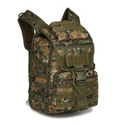 Oxford Large Capacity Waterproof Military Camouflage Camping Bag Saurida Backpack