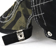 Men 100% Washed Cotton Breathable Beret Cap Camouflage Stitch Hats Casual Windproof Warm Hats
