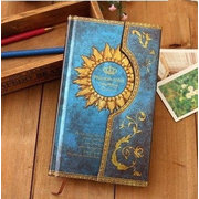 Magical Style Journal Diary Vintage Hard Cover Vintage Pocket Planner Notebook School Office Supply