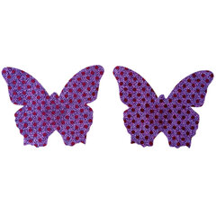 Sexy Butterfly Sticky Seamless Backless sans bretelles Invisible Soutien respirant Bras